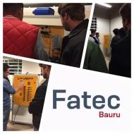 Alunos da Etec Rodrigues de Abreu - extensão Agudos visitam a FATEC Bauru