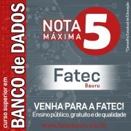 O curso de Tecnologia em Banco de Dados é NOTA MÁXIMA 5 (CINCO),