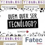 Você sabe o que é ser Tecnólogo?